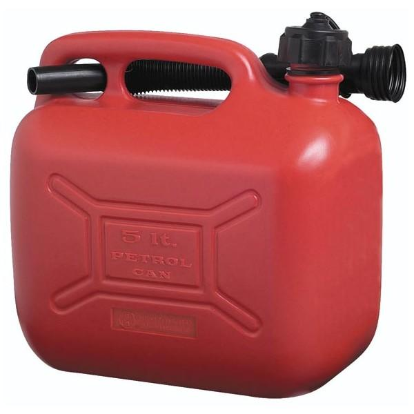 Cosmos 5l Plastic Fuel Can Green Red Or Black