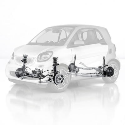 suspension & steering - 453 fortwo/forfour