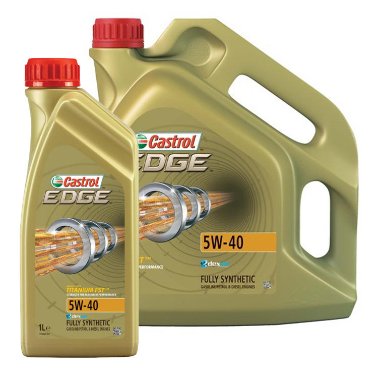 Castrol Edge 5w 40 Fully Synthetic Engine Oil Mb 229 31 Mb 229