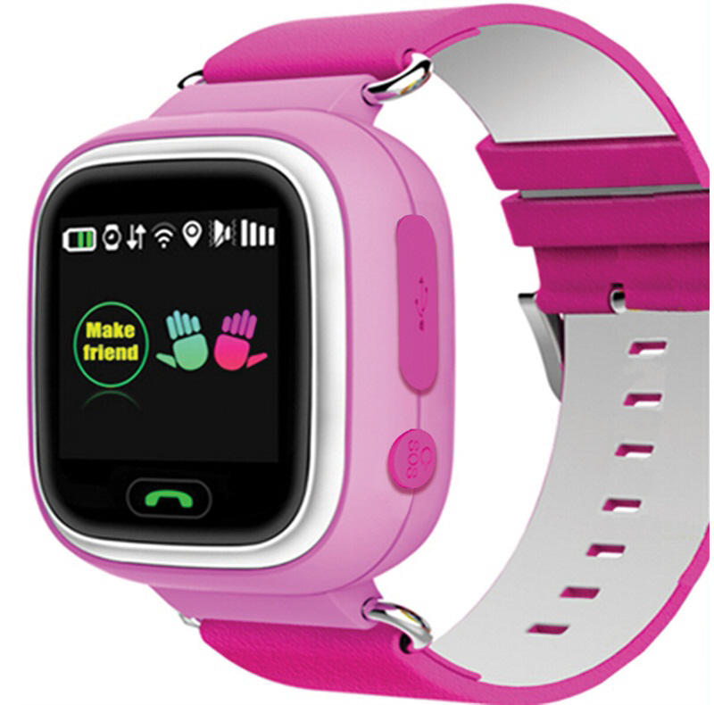 Kids Gps Tracker Watch Blue Or Pink Streetwize
