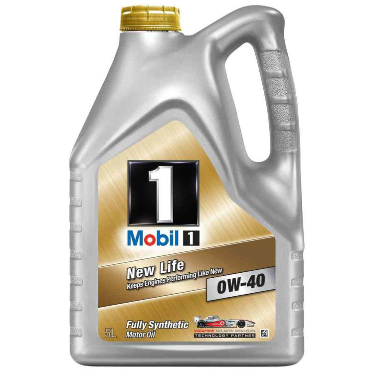 Mobil 1 new life 0w 40 fully synthetic engine oil mb 229 for Best non synthetic motor oil