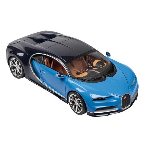 bugatti chiron blue 1 18 scale. Black Bedroom Furniture Sets. Home Design Ideas