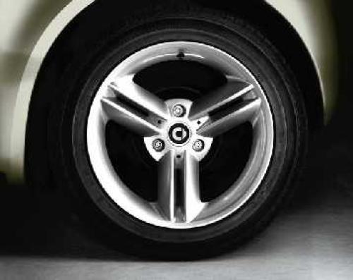 Spikeline 16 Quot Alloy Wheels 452 Smart Roadster Amp 450