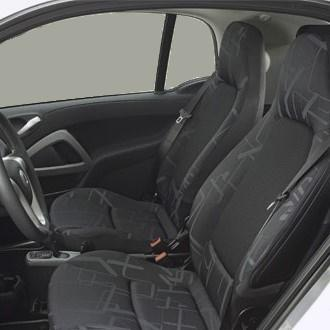 seating - 451 fortwo