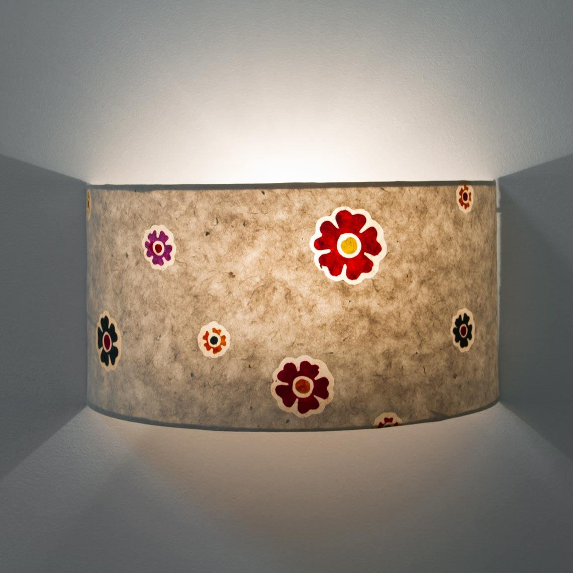 Wall Light Lamp Shade Front lit