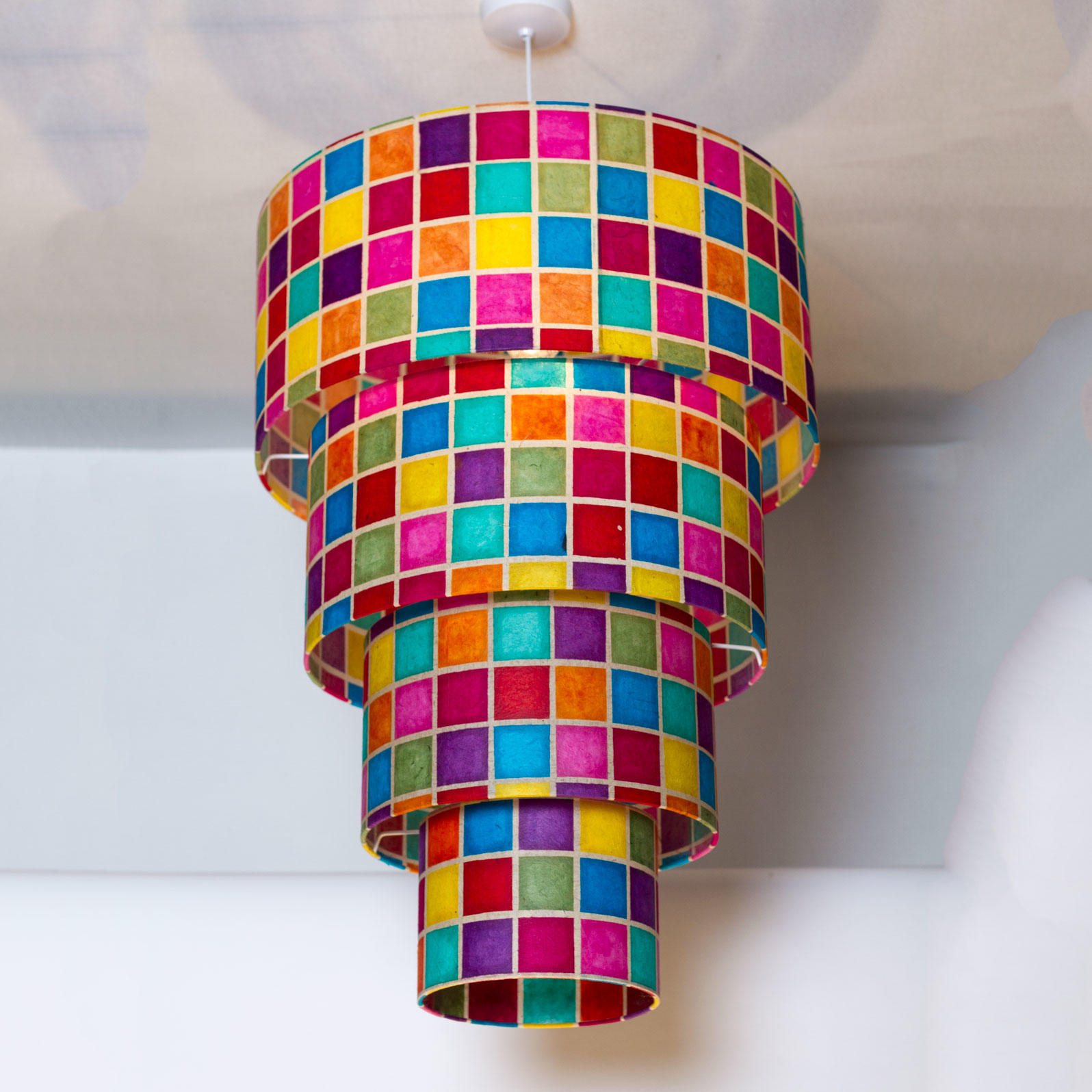 4 Tier Drum Lamp Shade