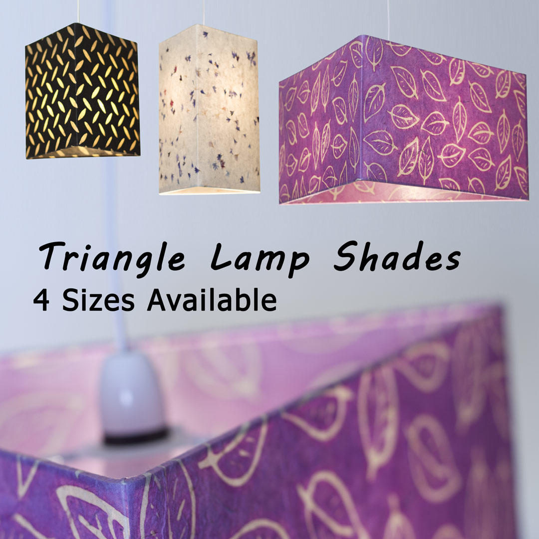 Triangle Lamp Shades