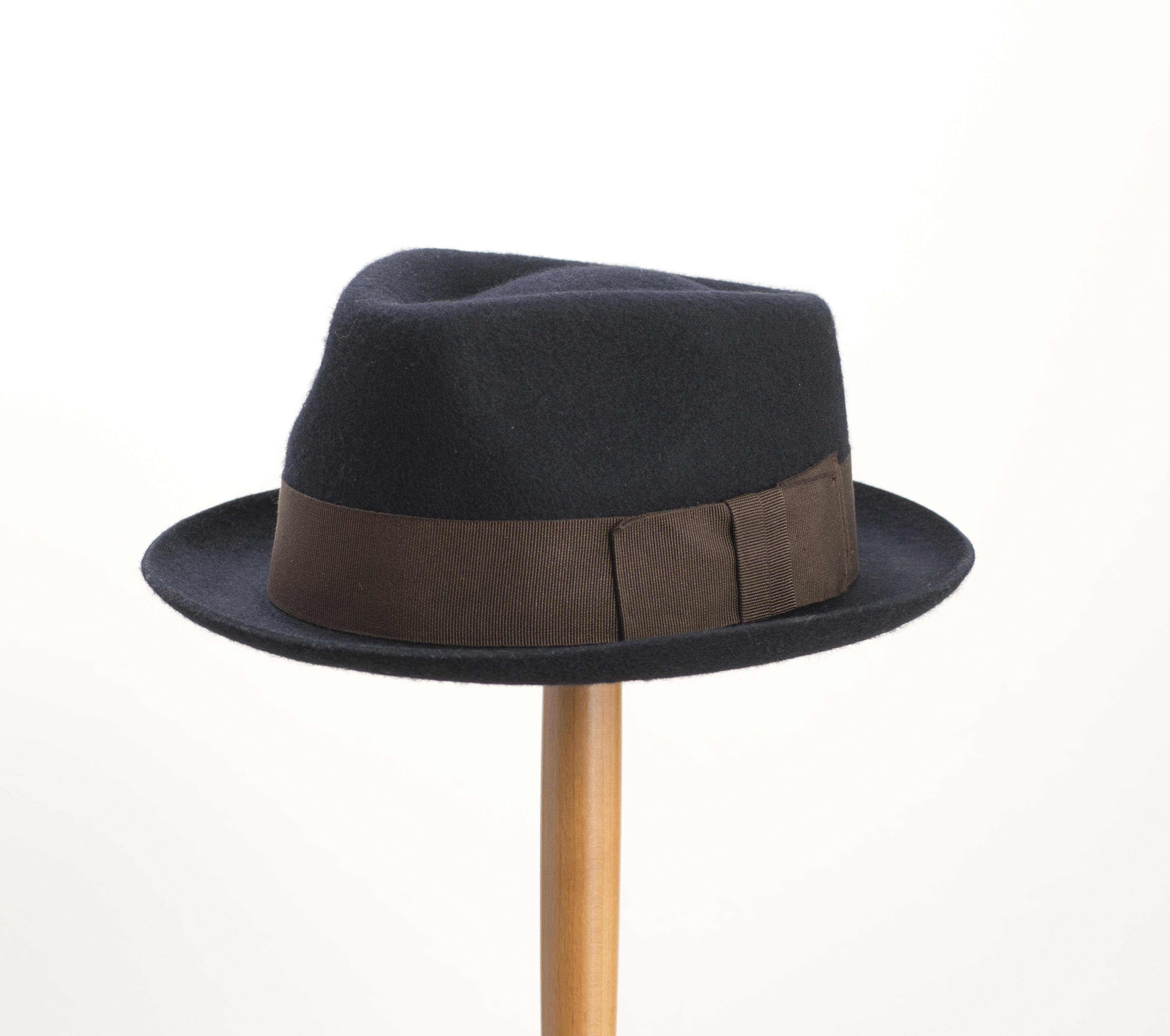 Christys' Whitstable Wool Trilby Navy