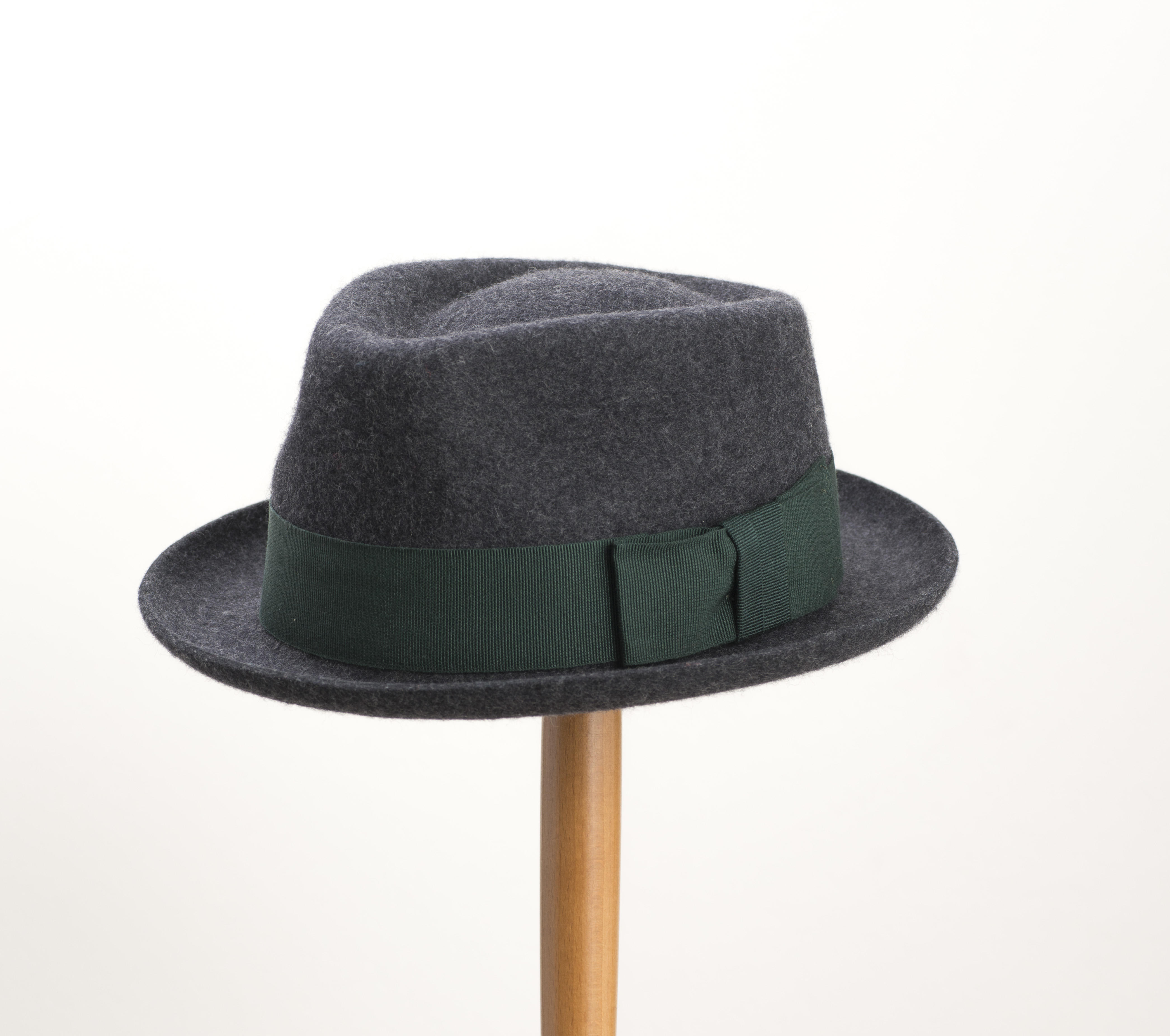 Christys' Whitstable Wool Trilby Charcoal