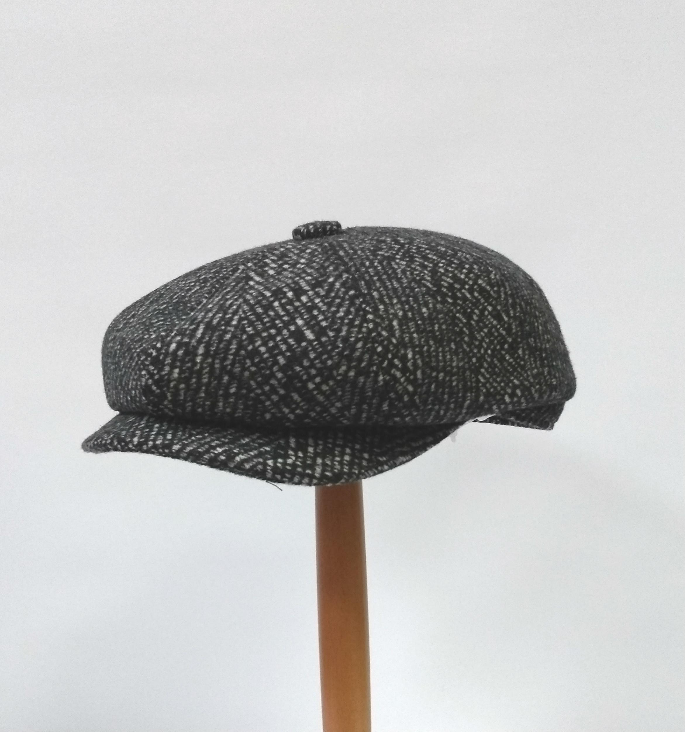 Whiteley Lichfield Newsboy Cap - Pewter