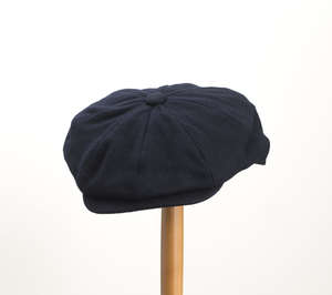 Whiteley Melton Newsboy Cap - Navy