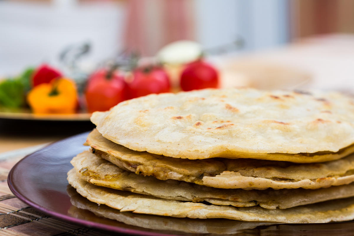 wheat free gobi paratha, gobi paratha, gluten free gobi paratha, vegan snack, vegan Indian food, free from indian bread