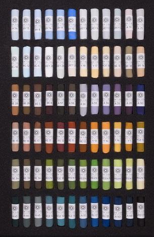 Unison Soft Pastels Top 240 Colours