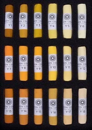 Unison Soft Pastels Yellow 1 - 18