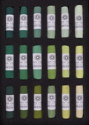 Unison Soft Pastels Green 1 - 18