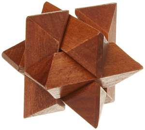 Mensa wood puzzle