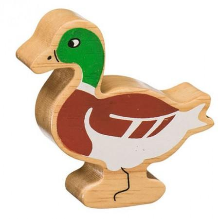 Wooden Painted Duck