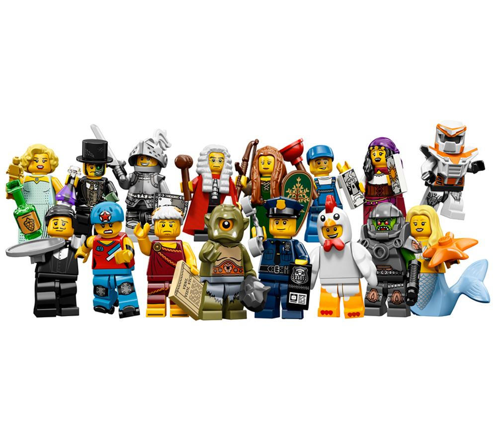 Lego Minifigures and Brickheadz