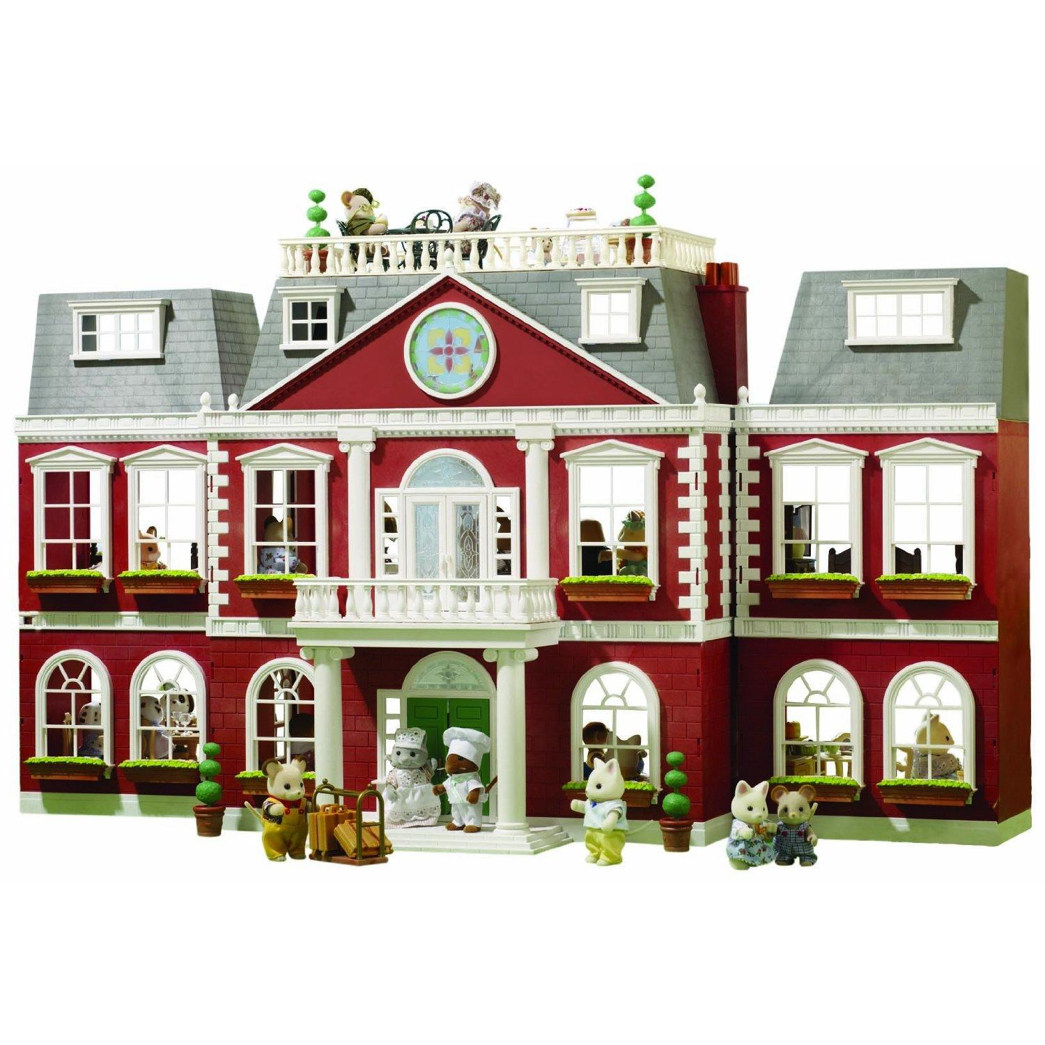 Sylvanian Family Homes and School