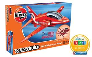 Quickbuild red arrows