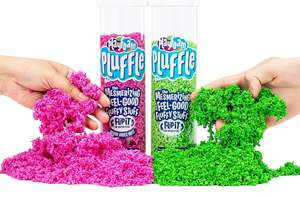 Pink/green pluffle