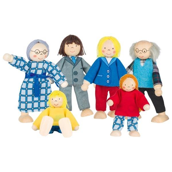 Wooden Flexible Dolls