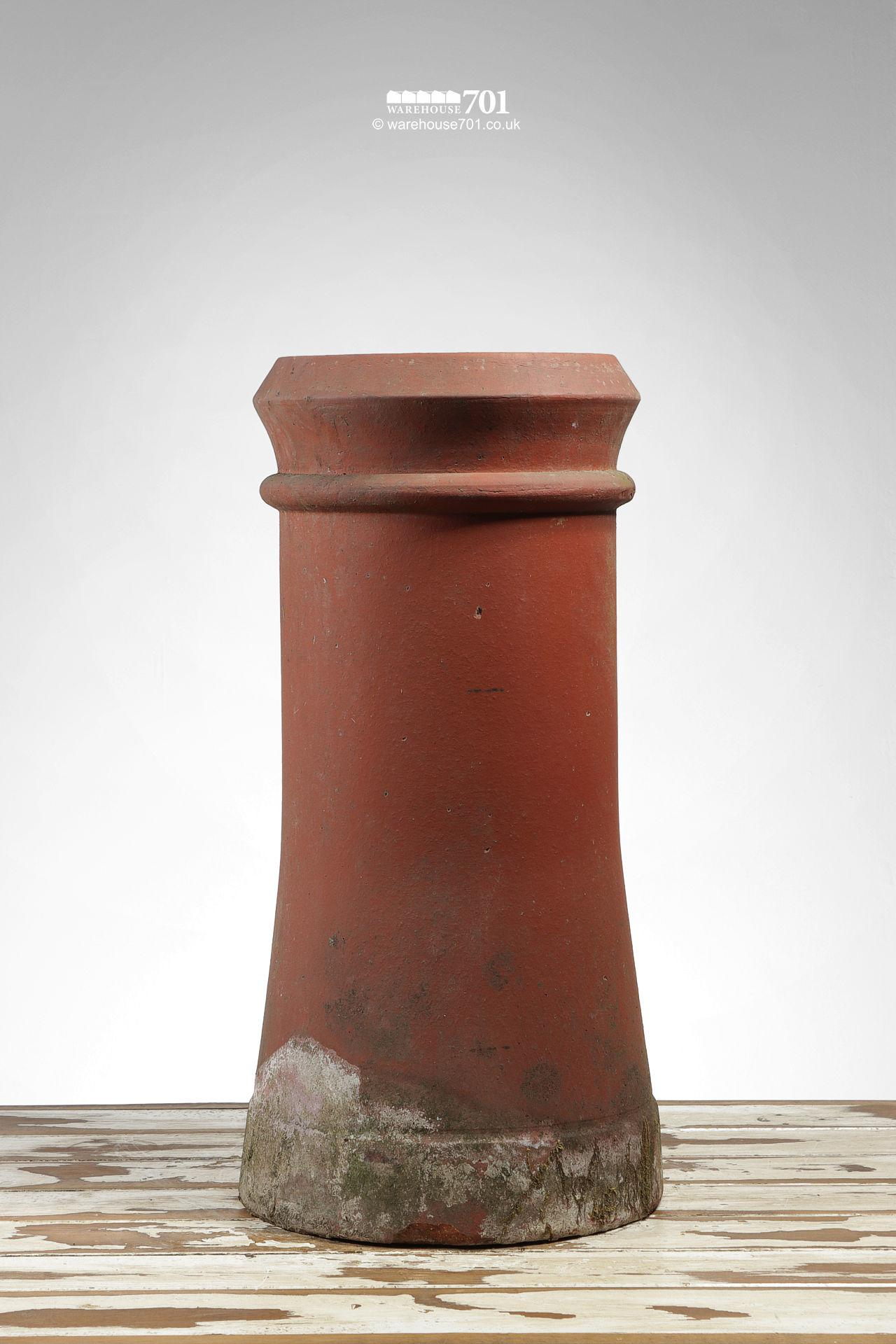 Old Semi-Tapered Canon Barrel Chimney Pot #2