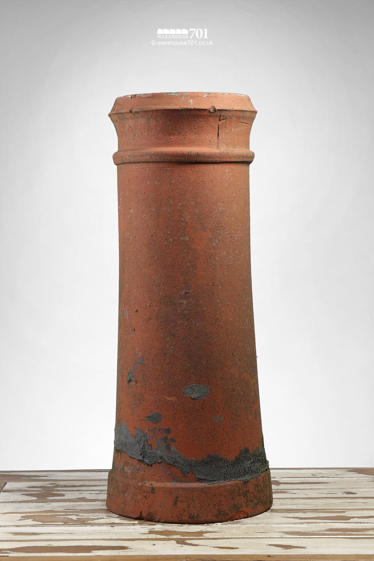 Terracotta Tapered Cannon Style Chimney Pot #2