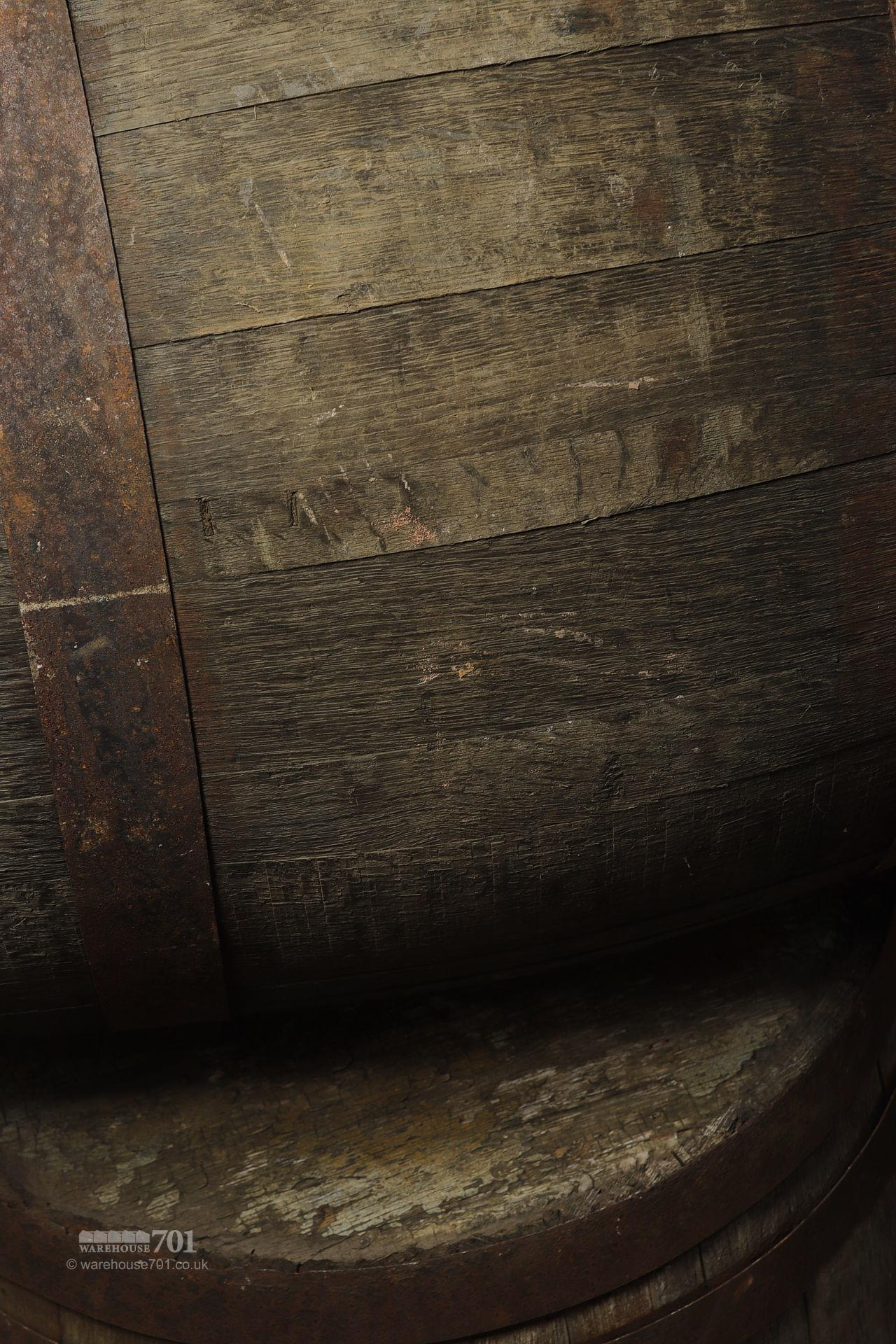 Reclaimed Solid Oak Authentic Whisky Barrels, Casks or Kegs #3