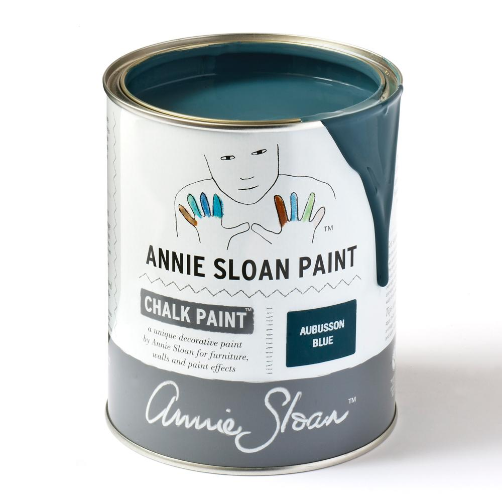 Aubusson Blue- Annie Sloan Chalk Paint