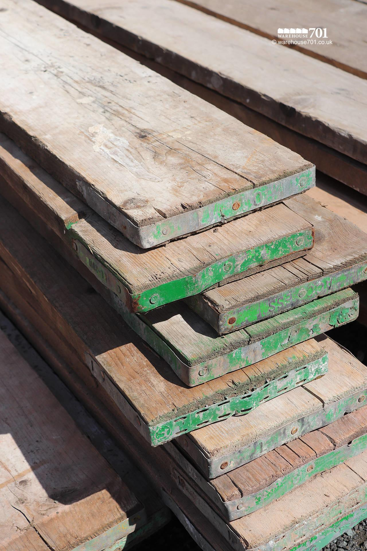 Reclaimed Used Pine Scaffold Boards