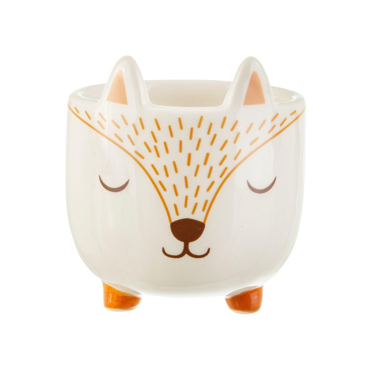New Childrens Mini Woodland Fox Planter for the Nursery and Home #3