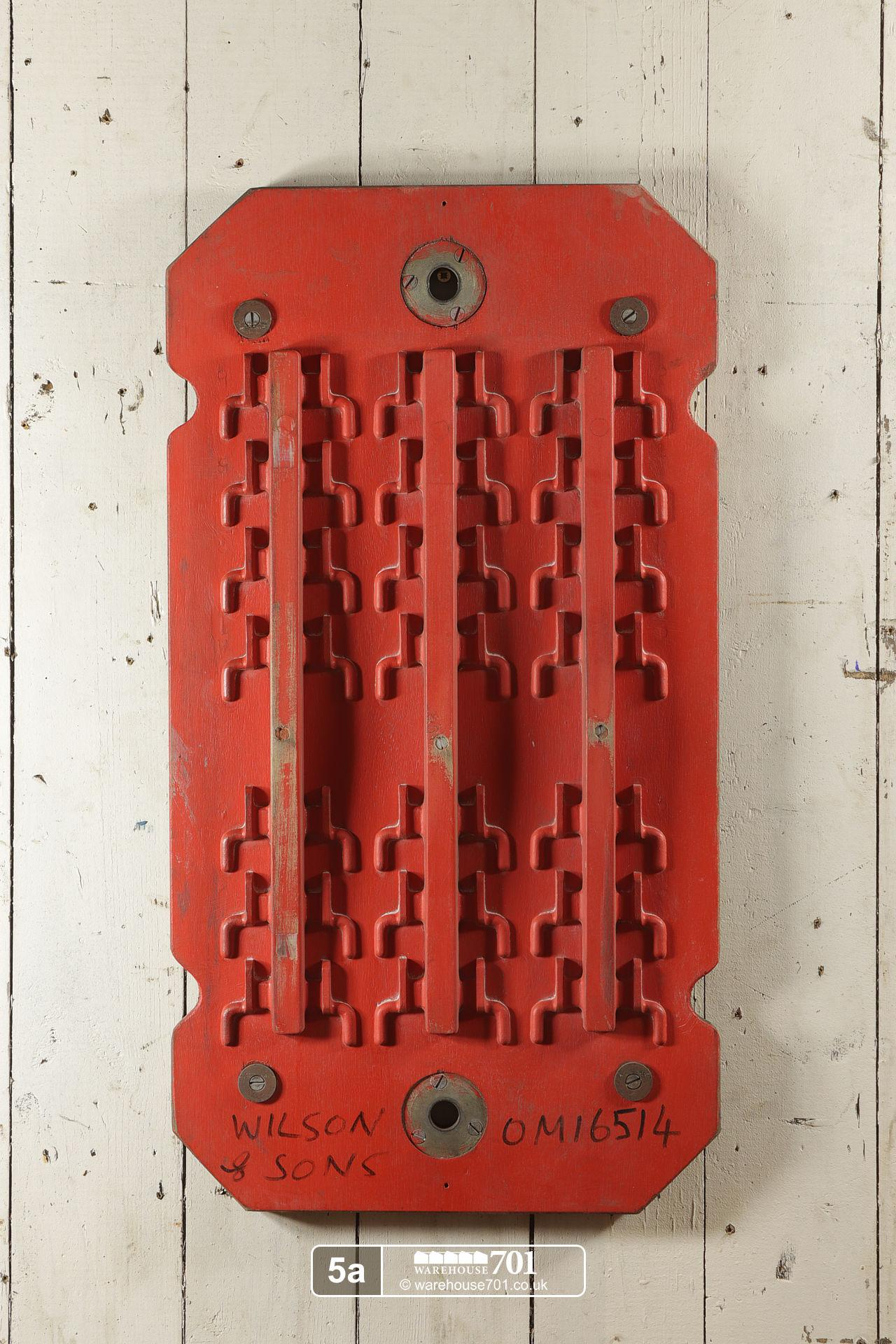Reclaimed Foundry Patterns or Moulds (No's 4 to 6) for Shop, Retail and Home Display #5
