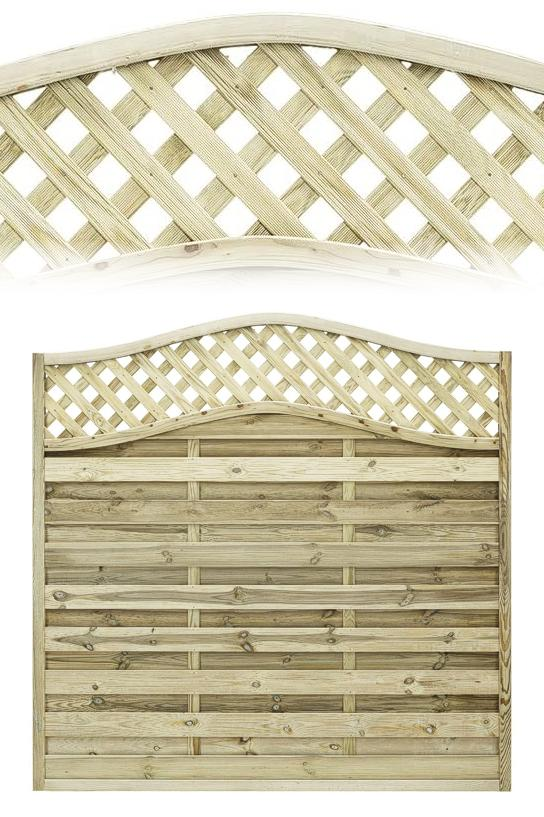 Elite Meloir Timber Fence Panel 1.8m