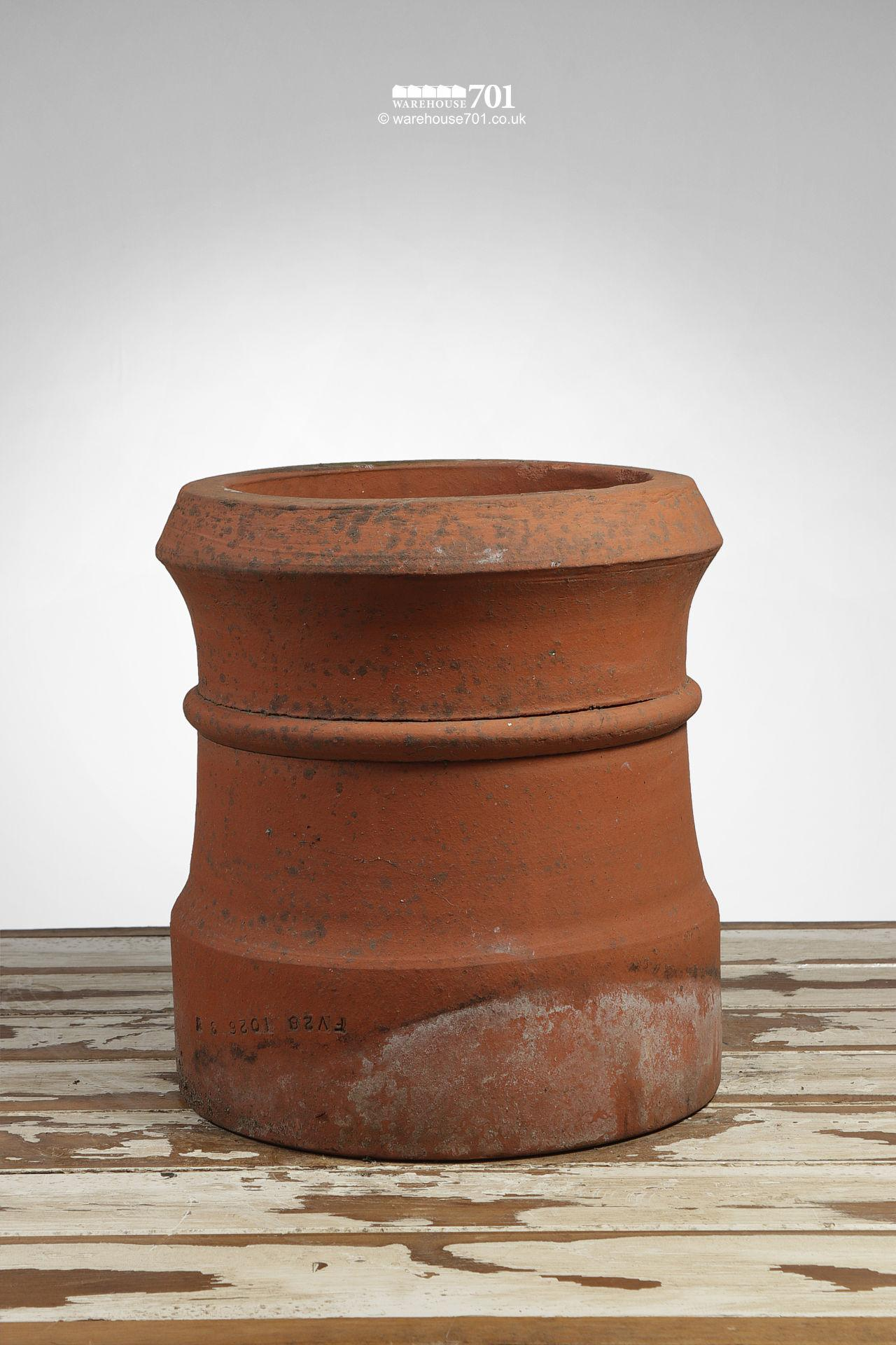 Vintage Terracotta Short Cannon Chimney Pot