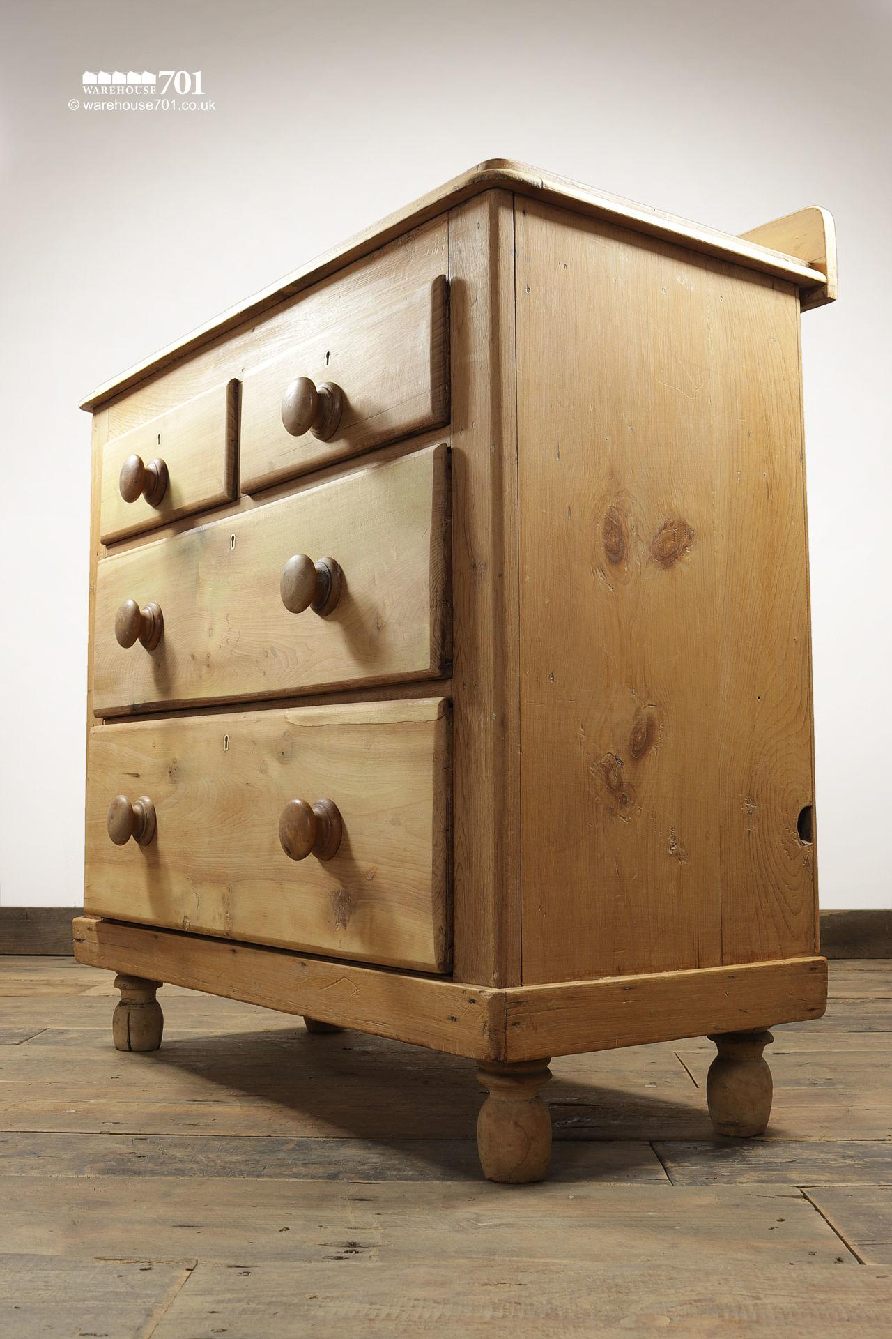Vintage Honey Pine Ray & Miles Chest of Drawers