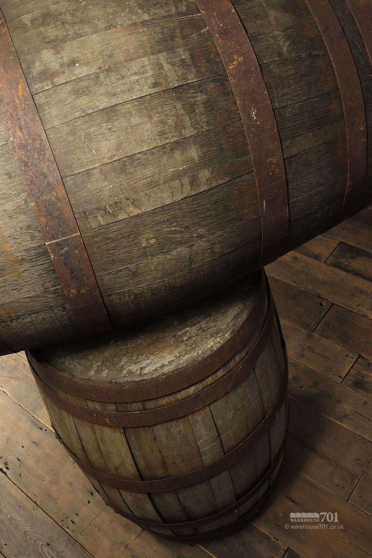 Reclaimed Solid Oak Authentic Whisky Barrels, Casks or Kegs #4