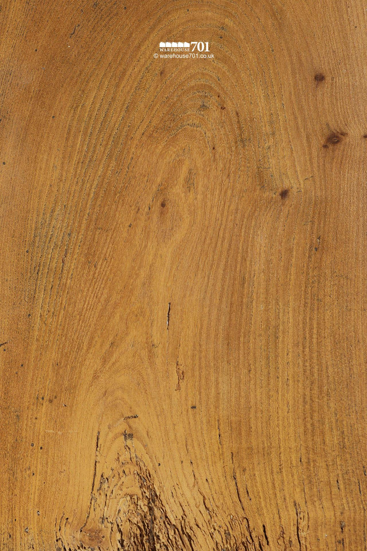 "10m² Stunning All Original Salvaged 18th Century 15"" Wide Board Elm Floor #3"