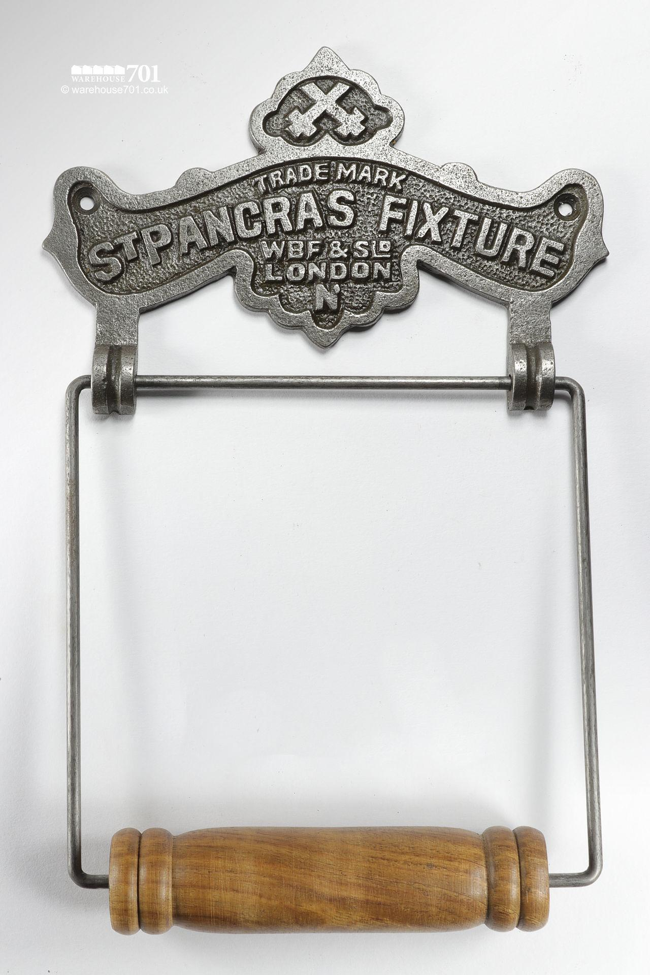 New Vintage Style Toilet Roll Holder - St Pancras Fixture