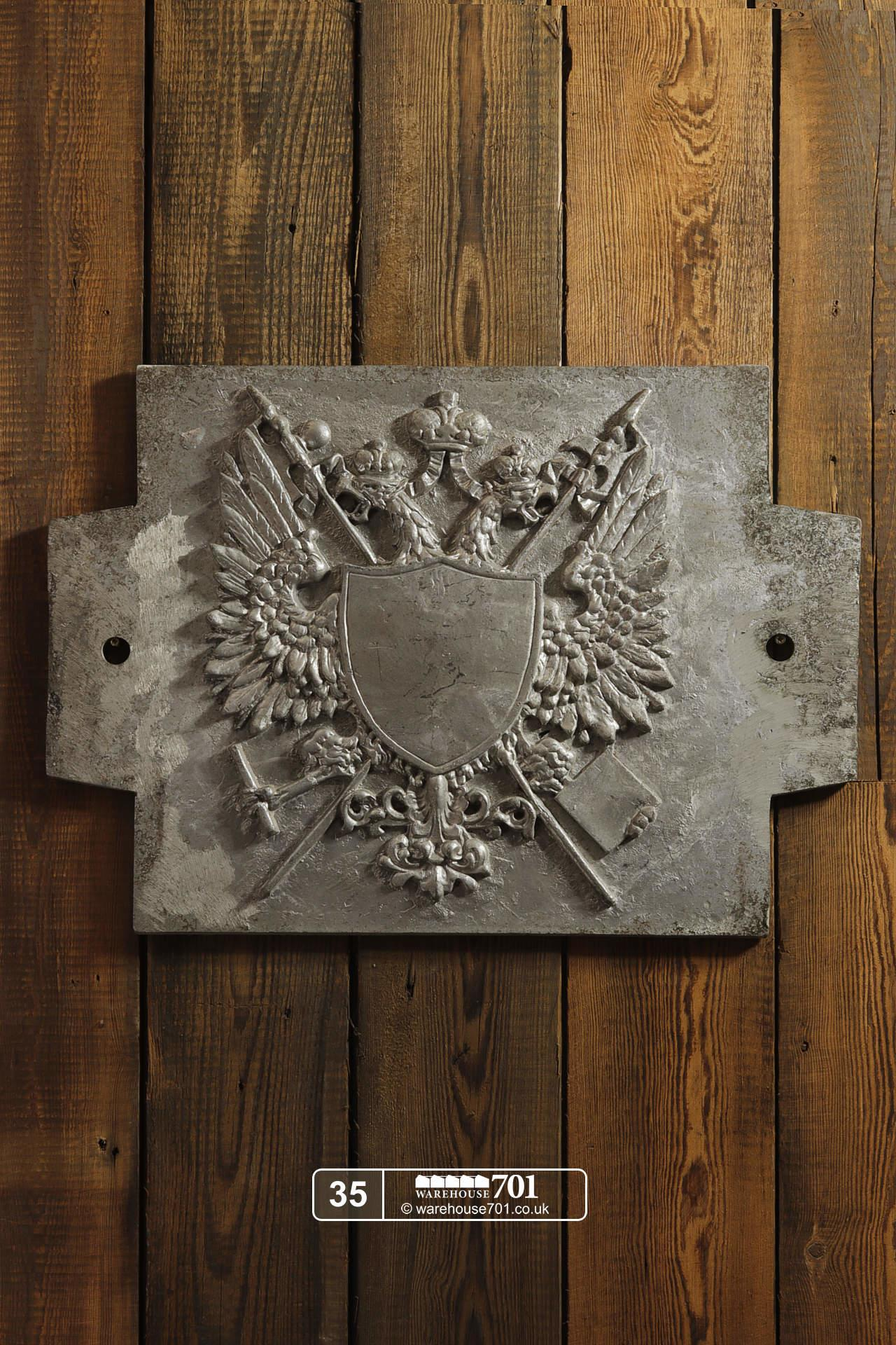 Aluminium Foundry Castings of Heraldic Crests (No's 35, 36, 37) for Shop, Retail and Home Display #3