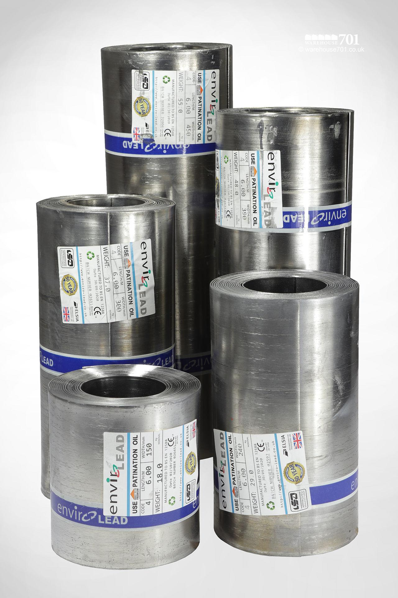 Code 4 Roofing Lead 6m Rolls