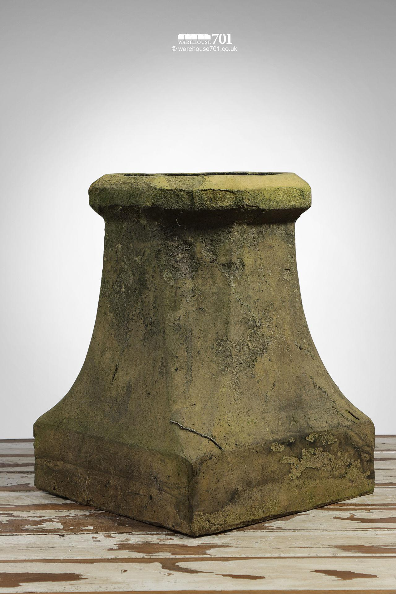 Old Buff Colour Halifax Style Chimney Pot #2