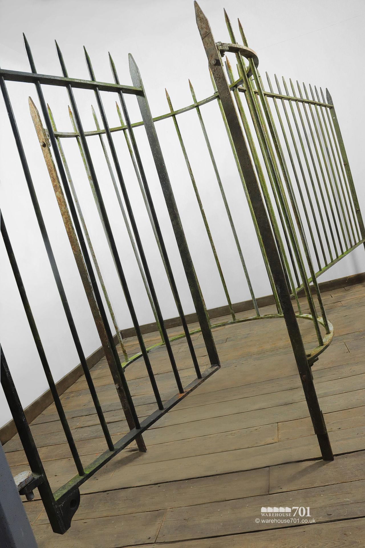 Reclaimed Wrought Iron Kissing Gate and Railings