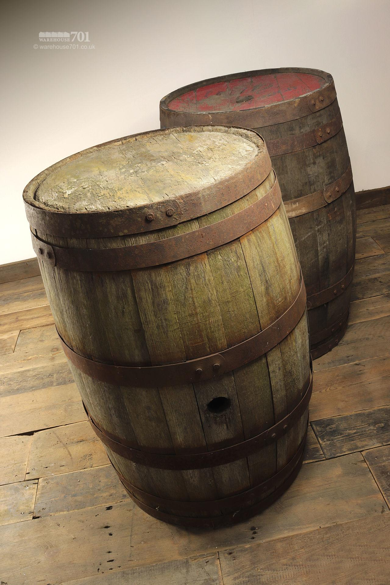 Reclaimed Solid Oak Authentic Whisky Barrels, Casks or Kegs #5