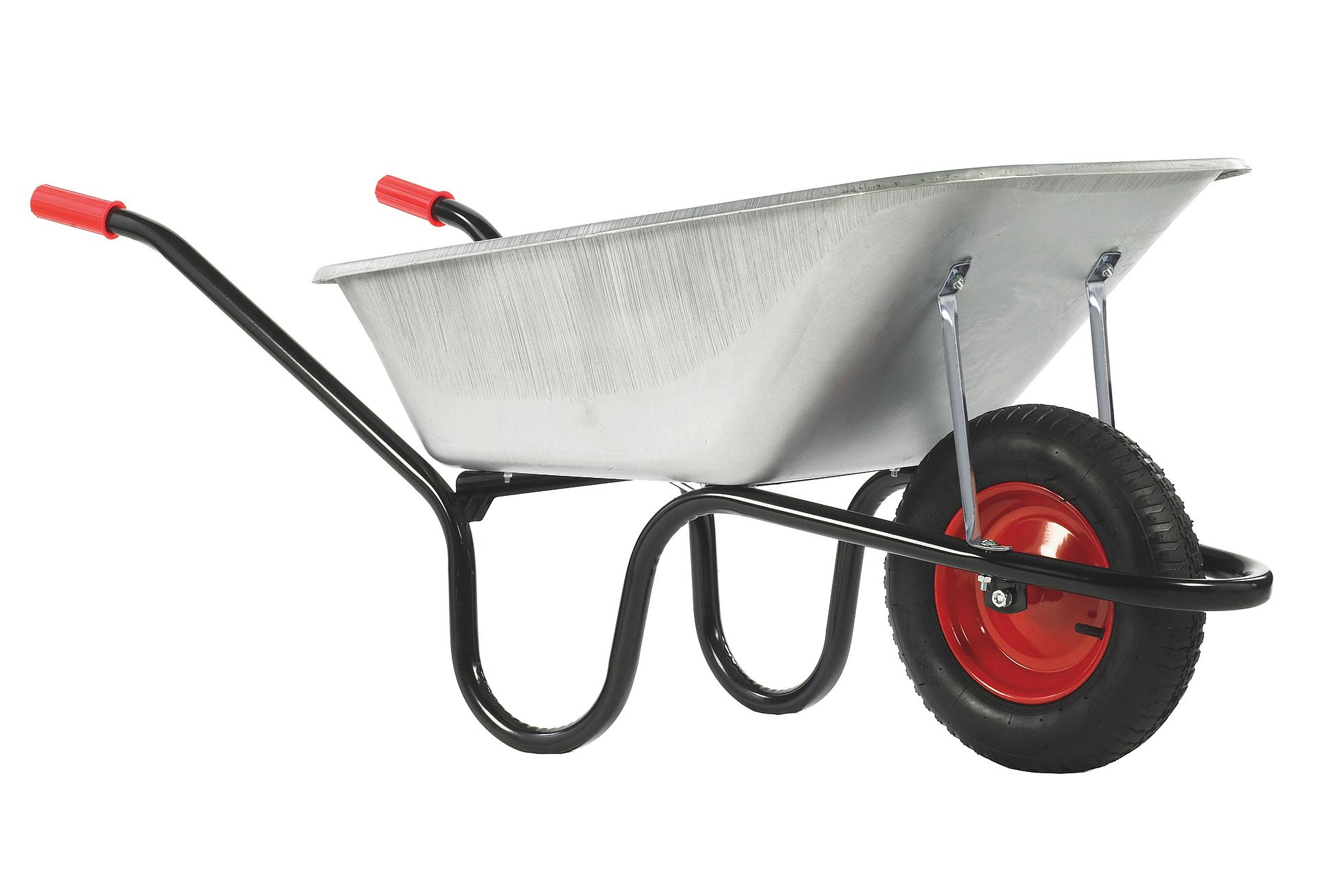 Haemmerlin Camden Classic Galvanised 85L Solid Wheel Wheelbarrow #2