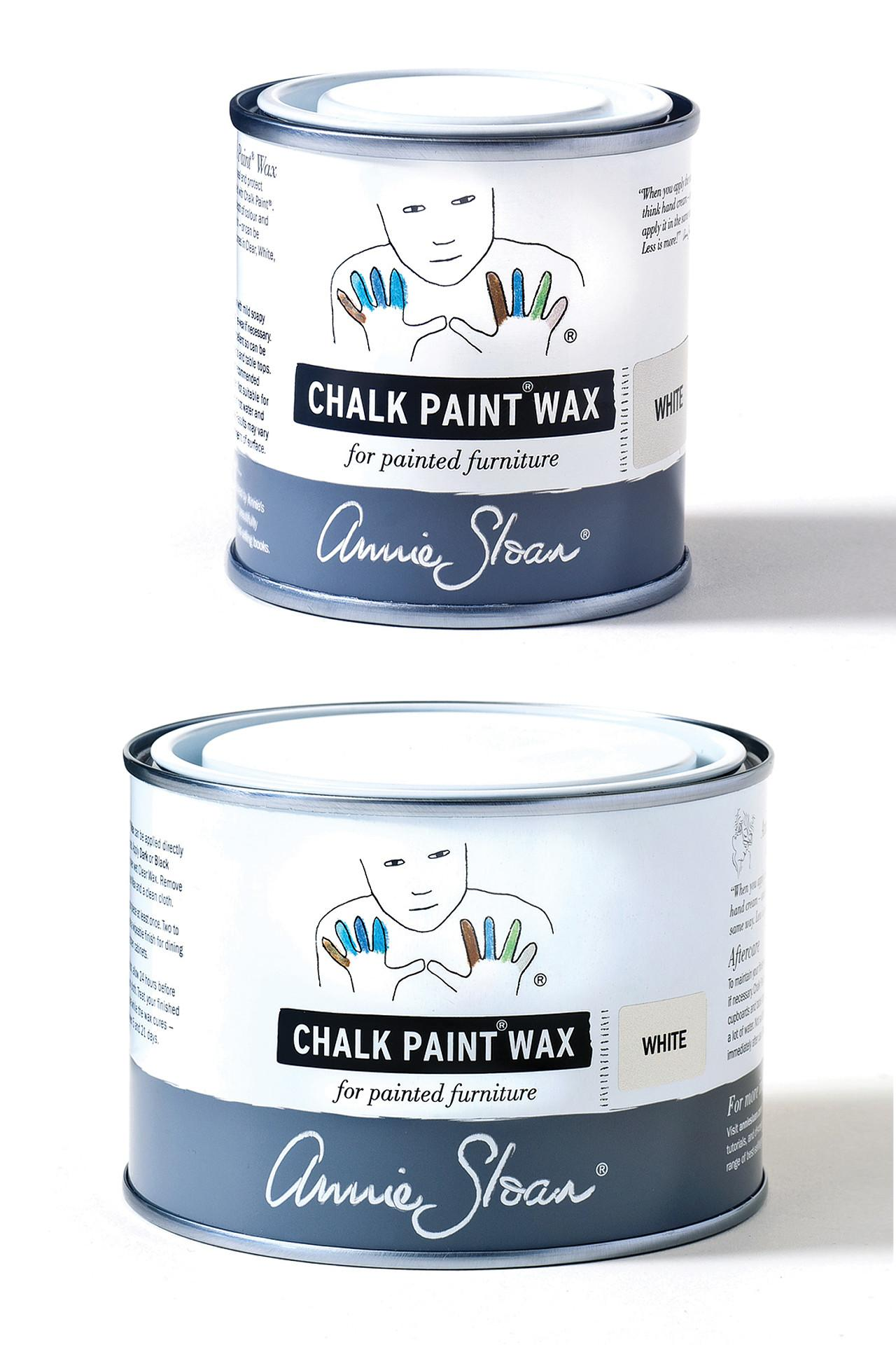Chalk Paint® Wax in Clear, Dark, White and Black #1
