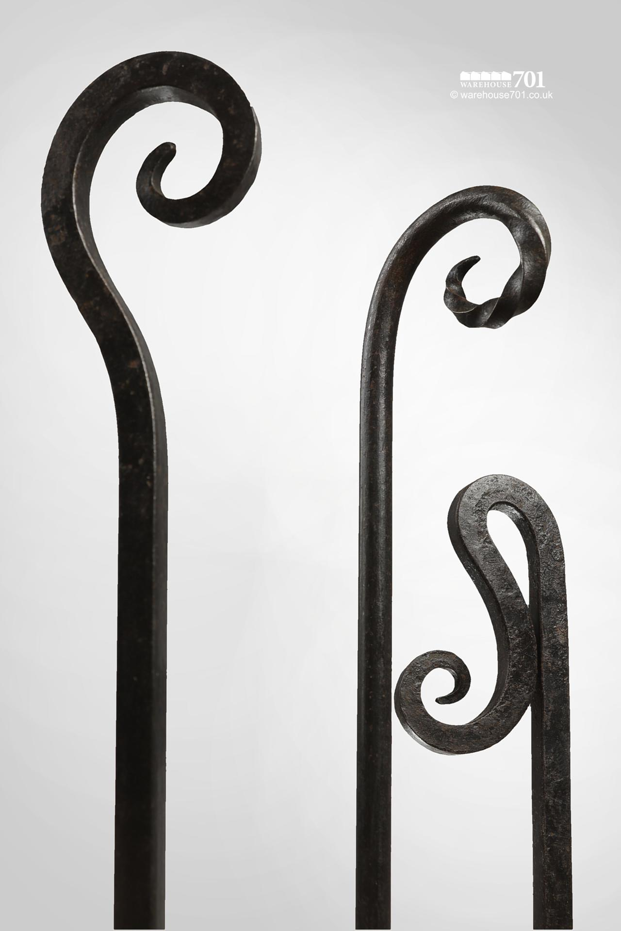 New Wrought Iron Blacksmith Made Decorative Fire Pokers #2