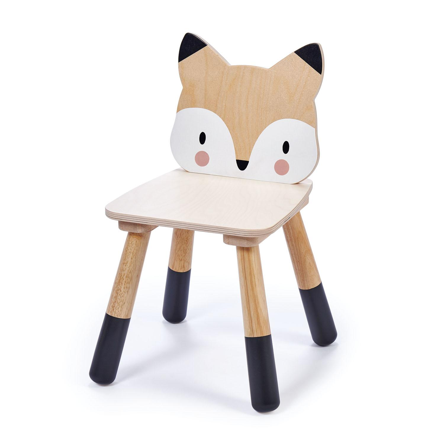 New Wooden Forest Fox Themed Children's Chair #2