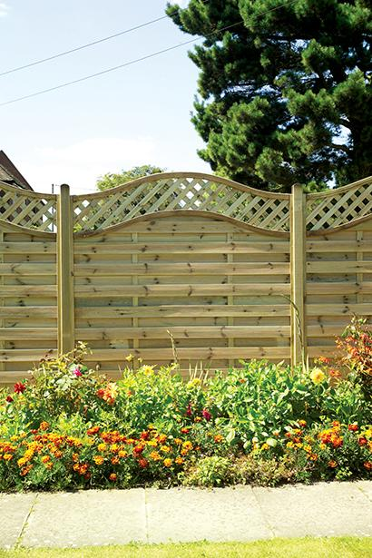 Elite Meloir Timber Fence Panel 1.8m #3