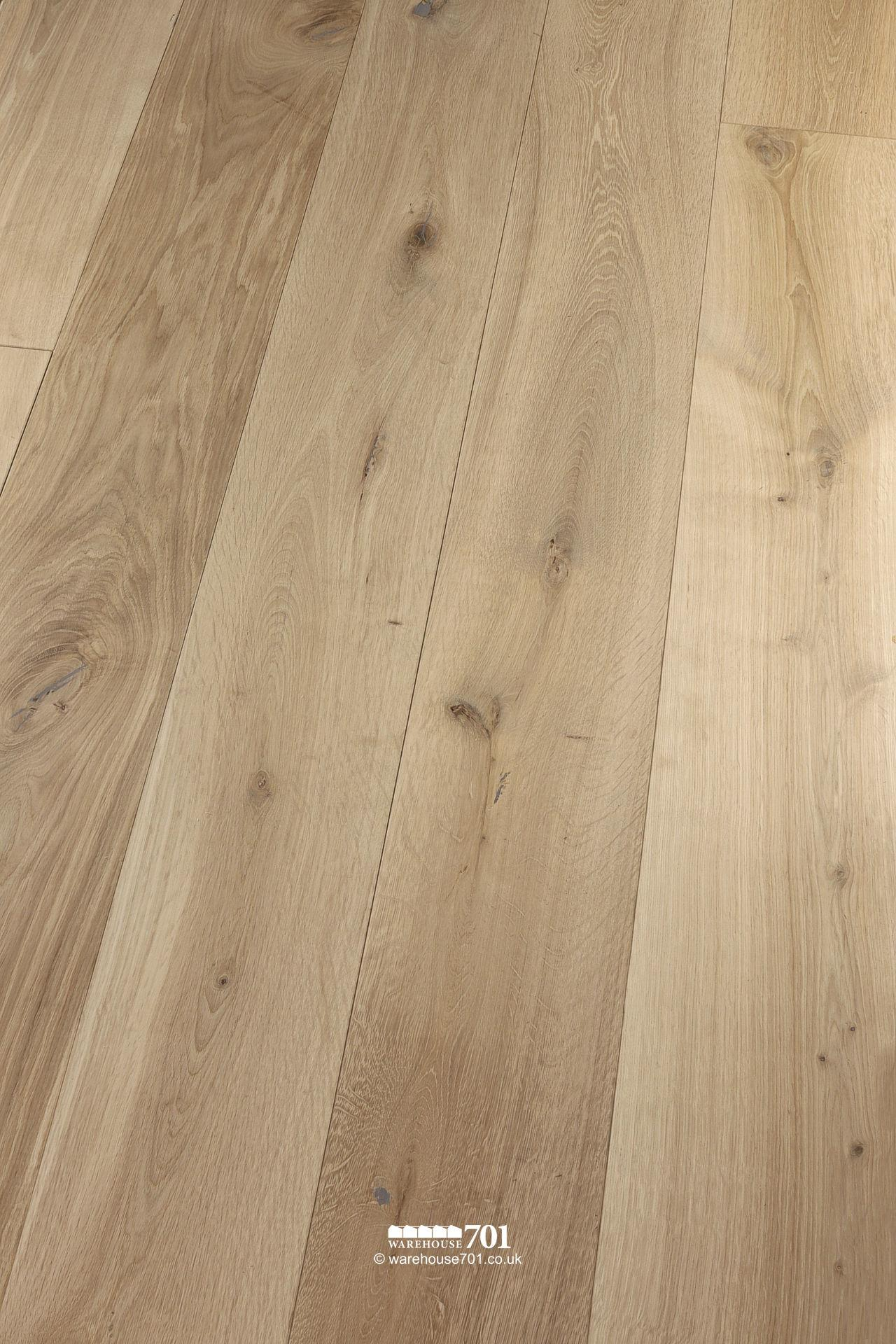 New 'Wessex' Engineered Natural Oak Wood Flooring